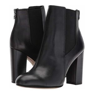 Sam Edelman Case Modena Calf Leather Booties Black